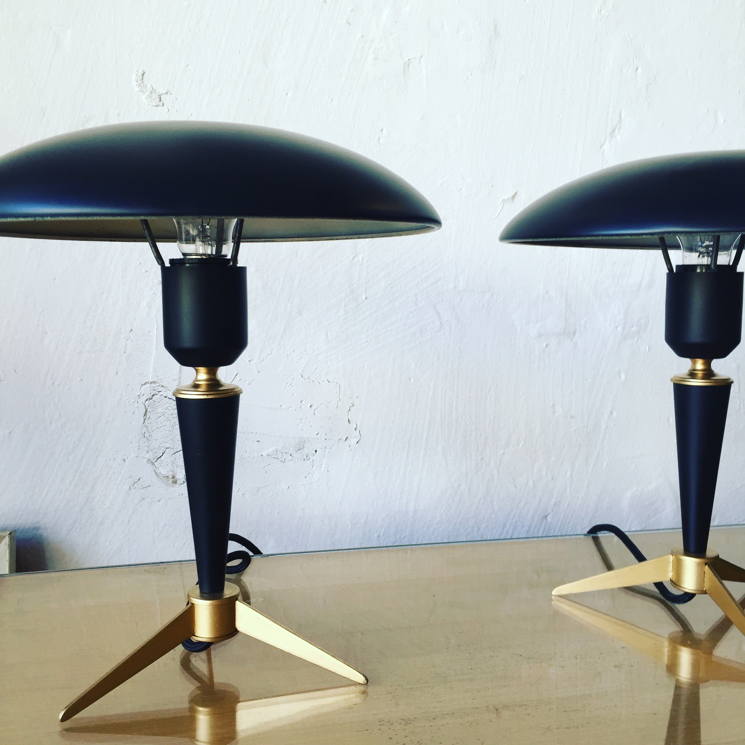 PAIR OF TABLE LAMPS BY KALFF