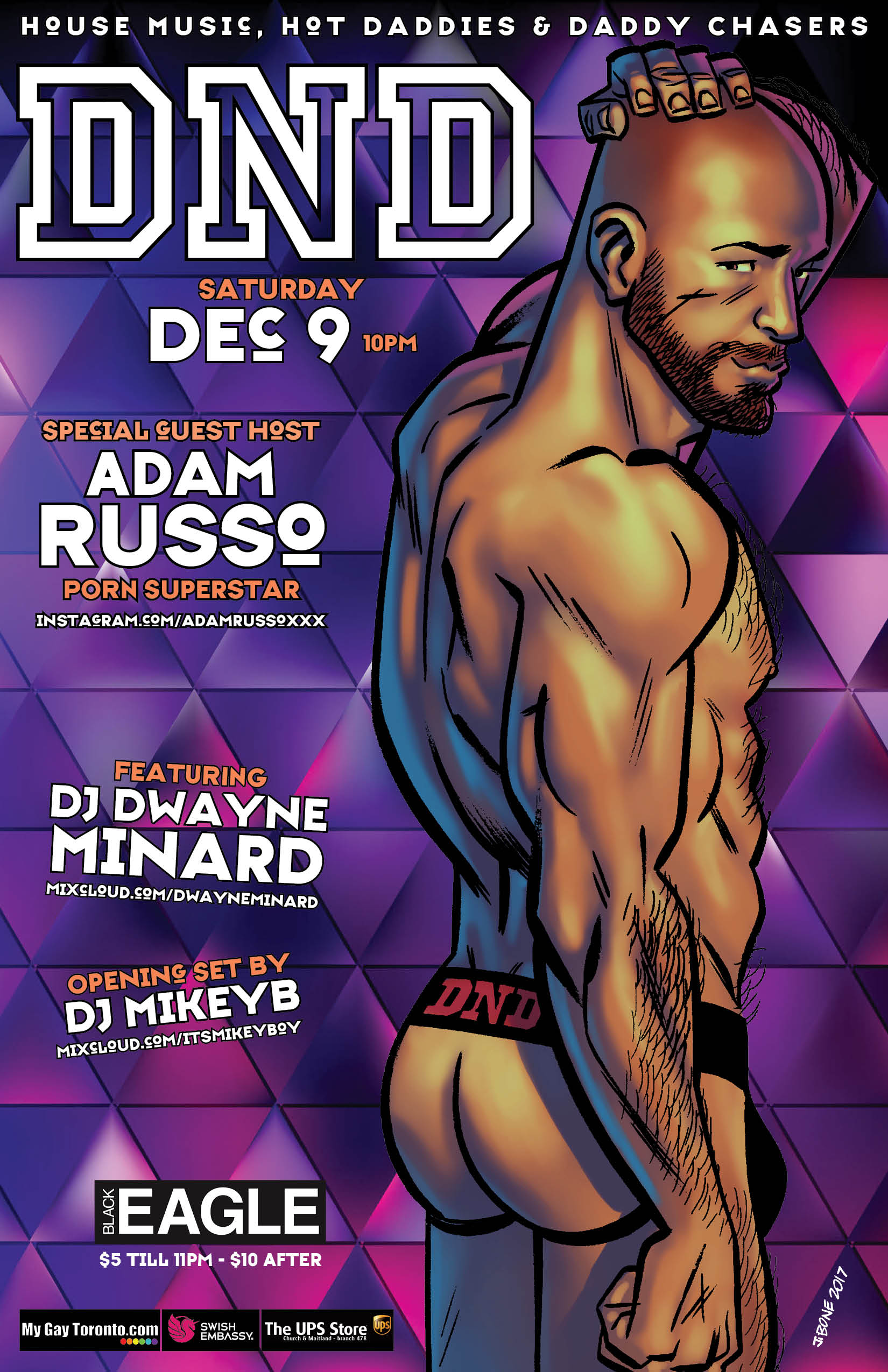 Adam Russo events — blog entries — daddy next door
