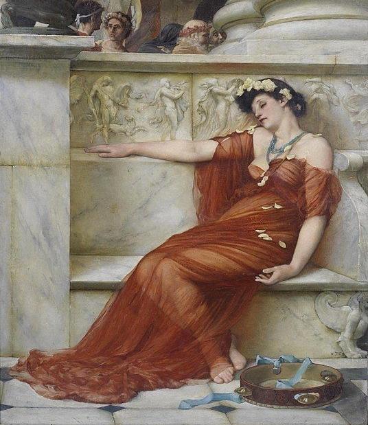 John Reinhard Weguelin Tired Dancer 1879.jpg