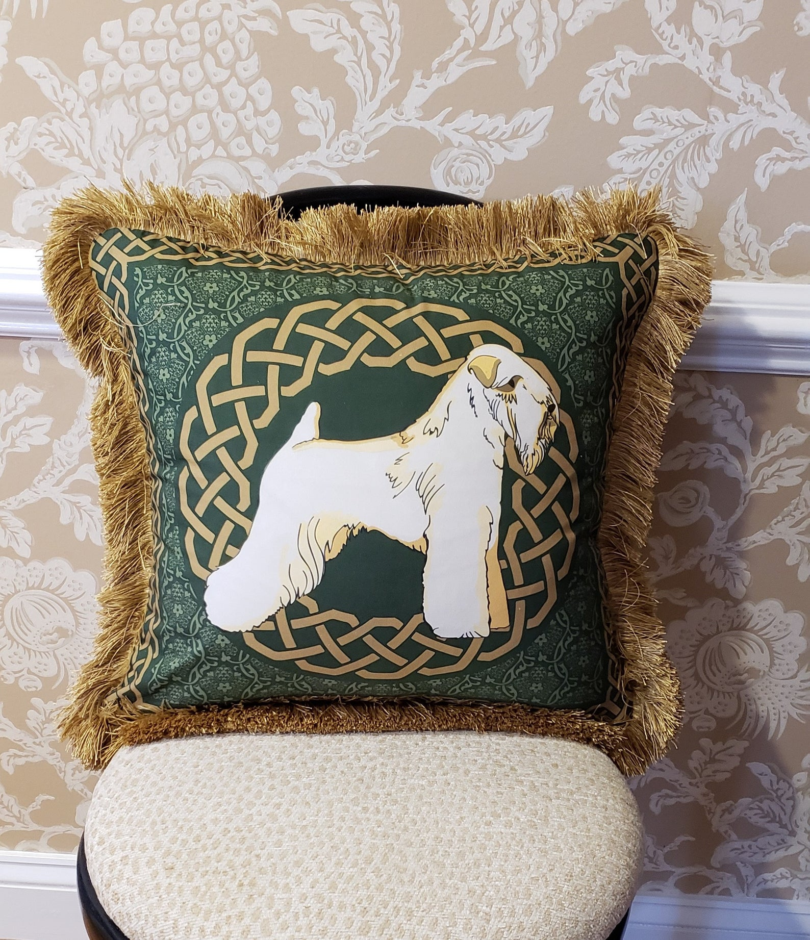 Soft Coated Wheaten Terrier Pillow $80