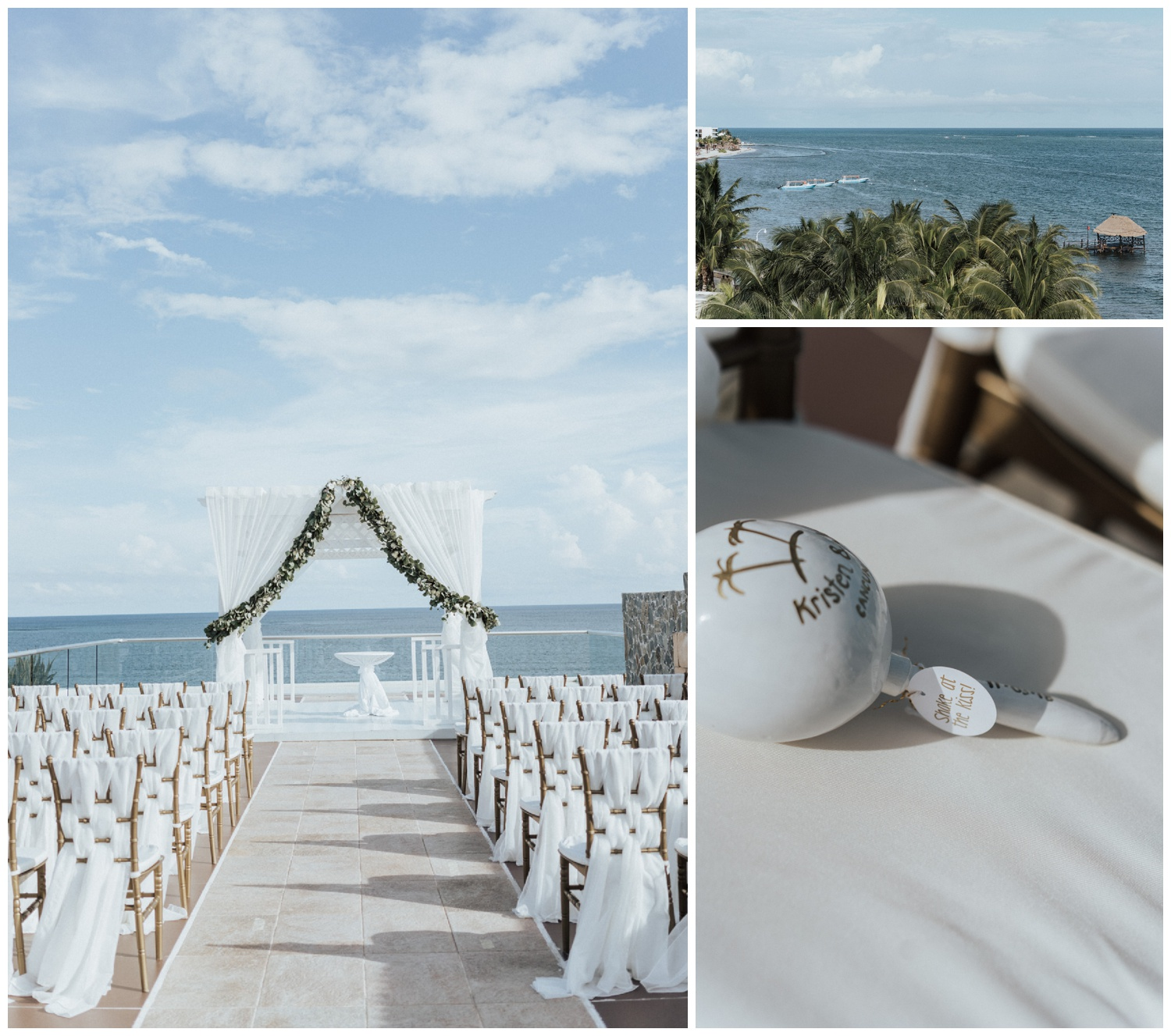 azul beach resort cancun mexico wedding photographer