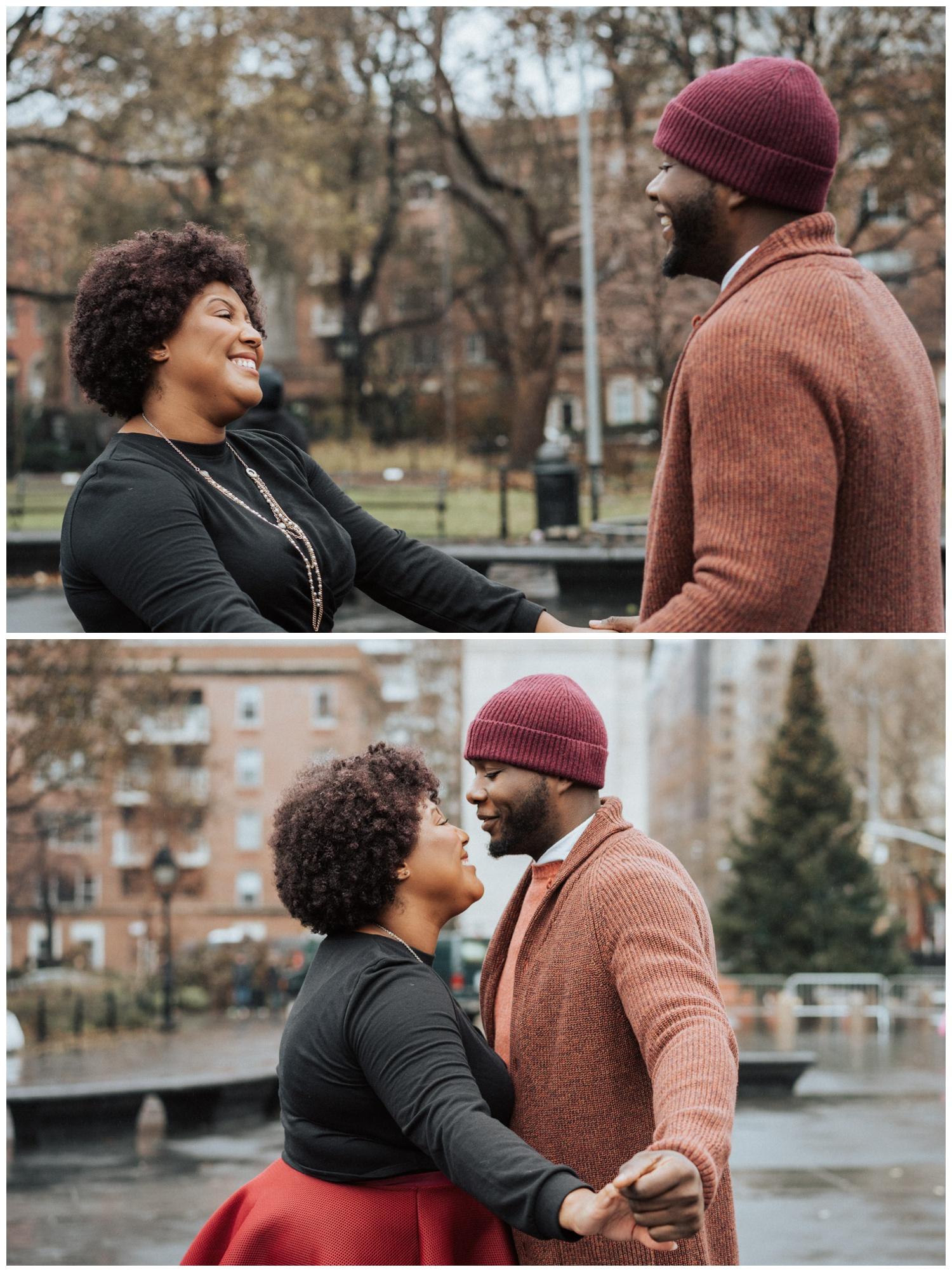 new york city couple photo shoot