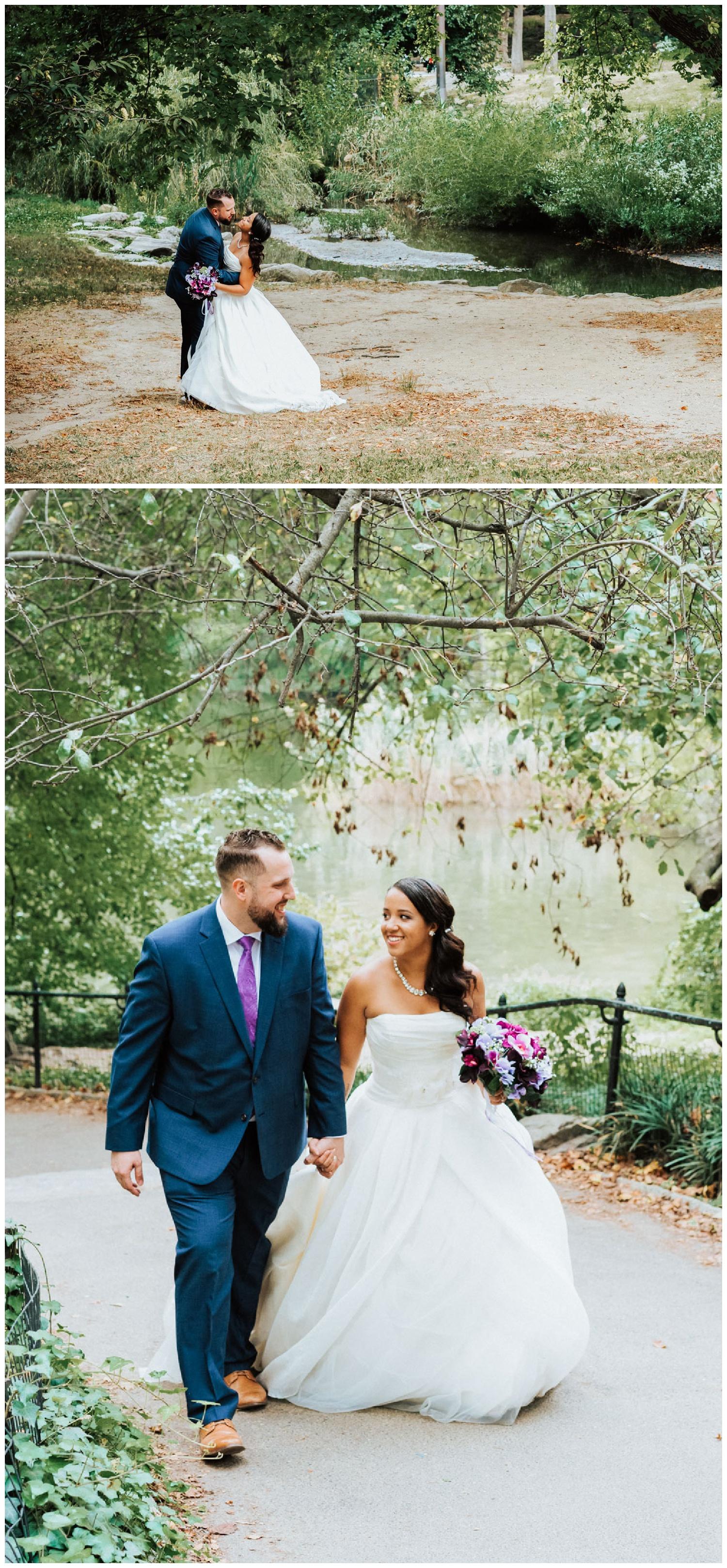central park elopement new york city wedding photographer