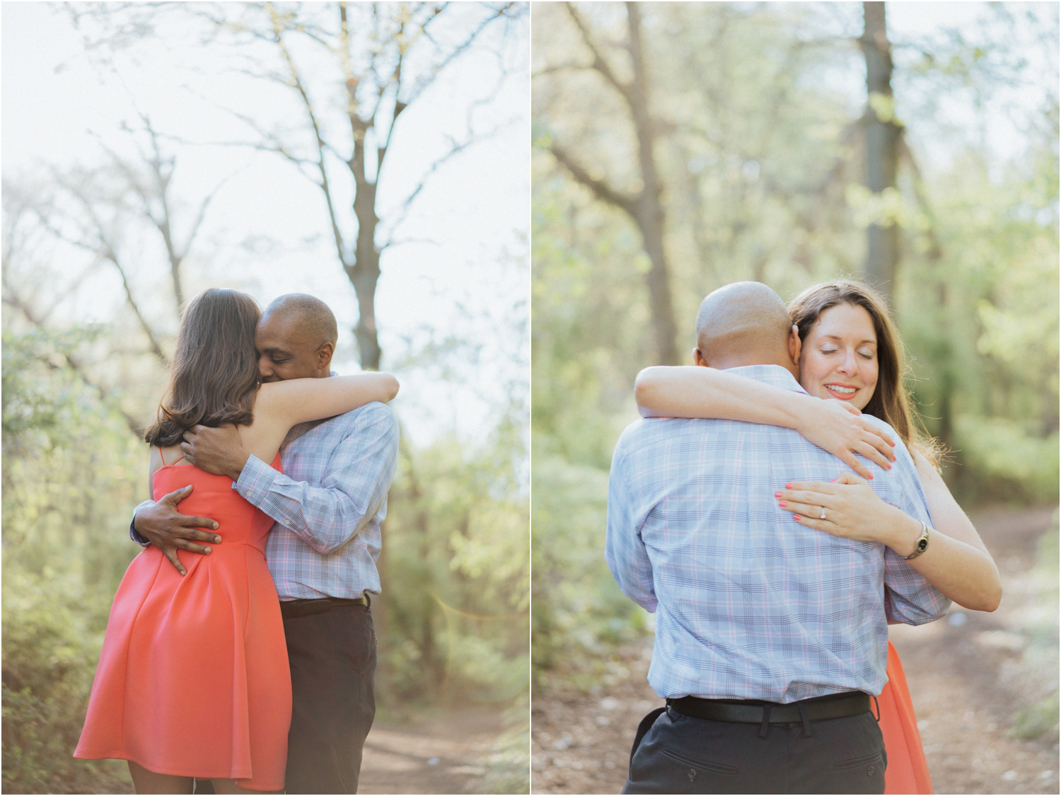 clove lakes park engagement session