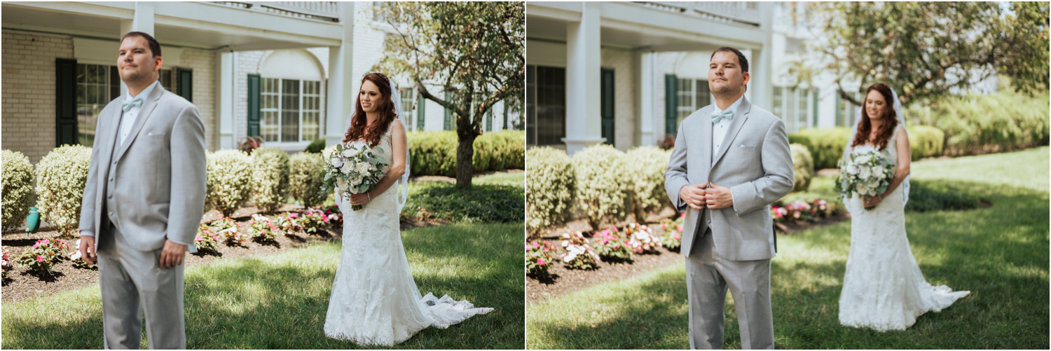 The Madison Hotel Wedding First Look