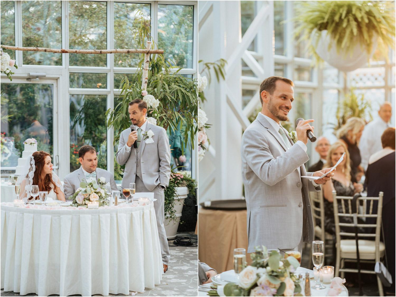 The Madison Hotel Wedding Reception Toasts