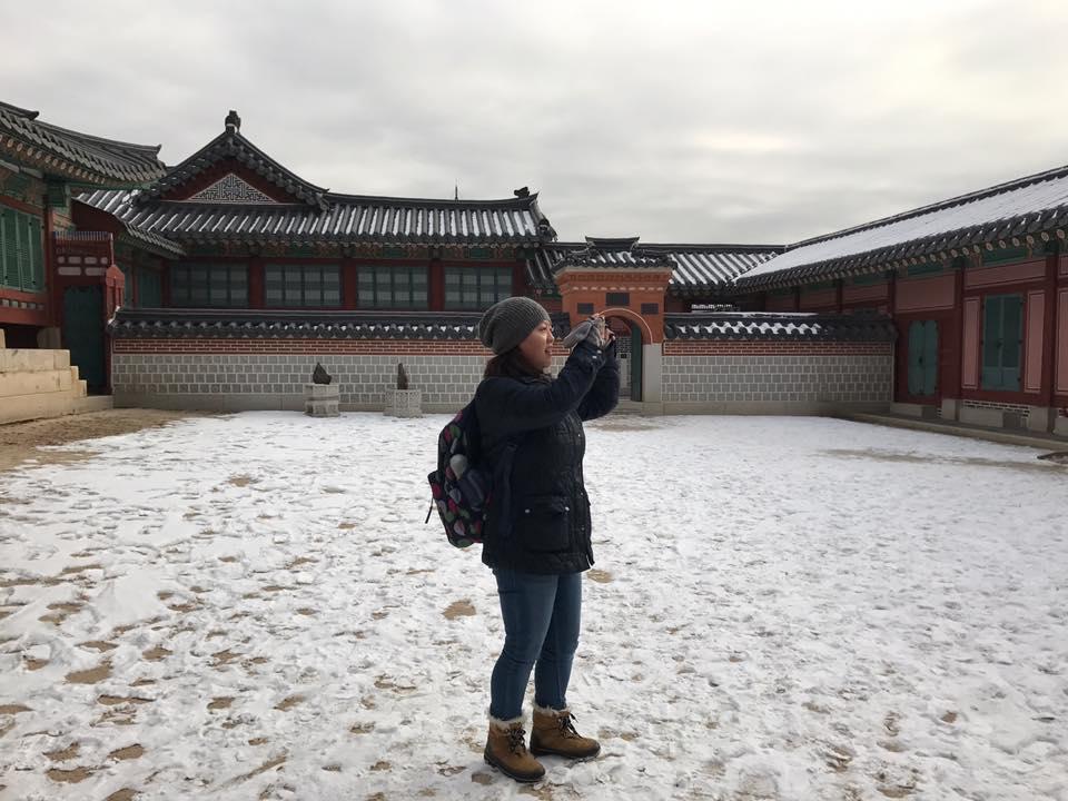 Exploring Gyeongbokgung Palace Photo by Manivanh