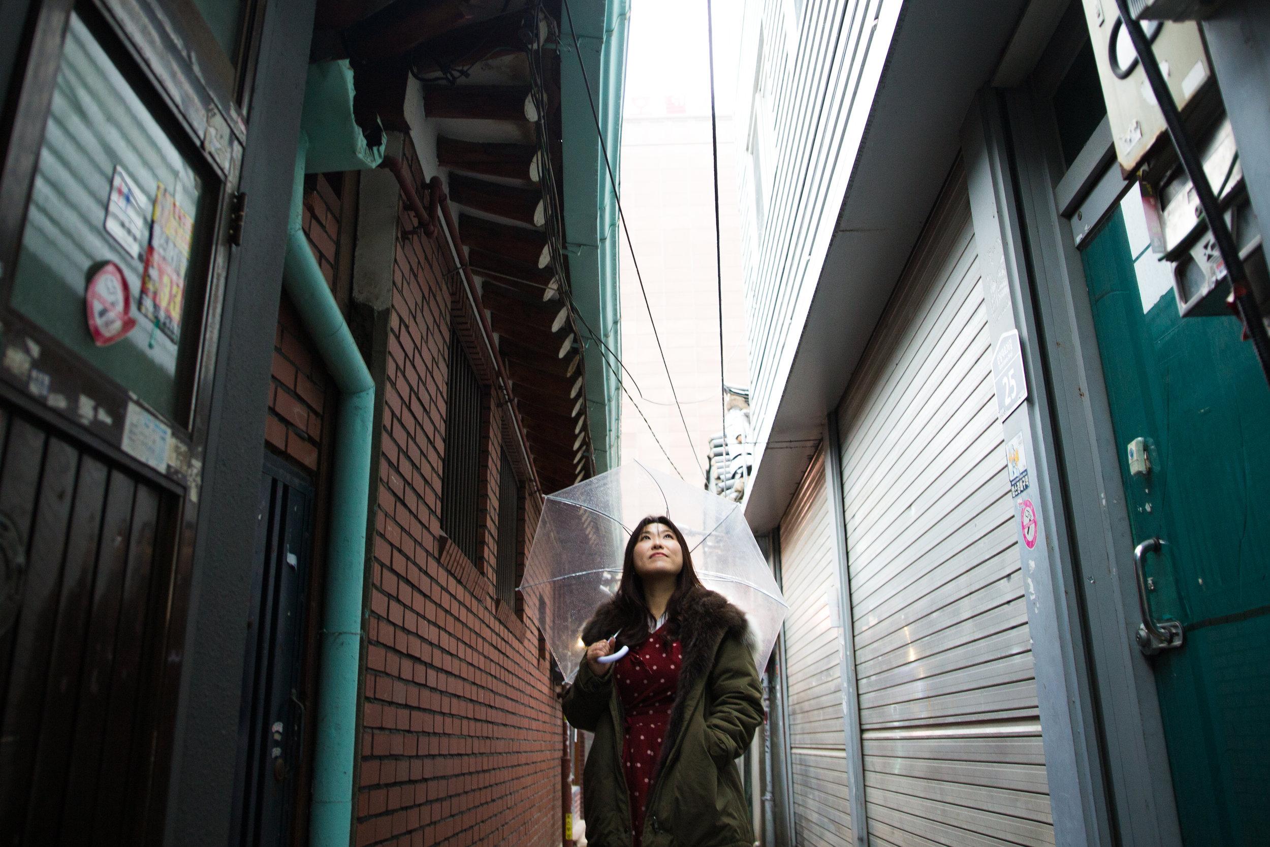 Model: Mina Choi