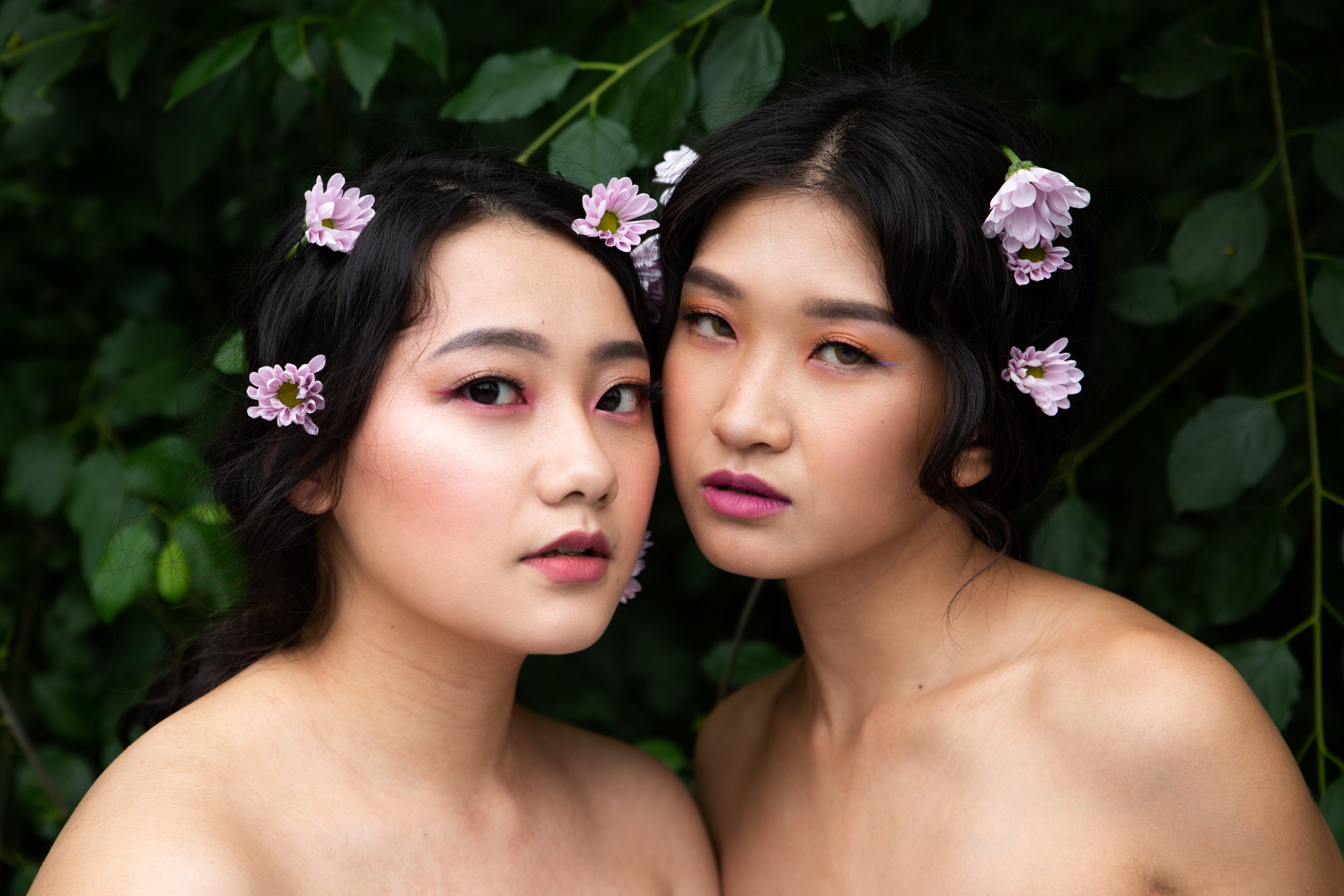 Models: Justina Khang & Sammiee Moua  MUA & Hair: Sammiee Moua  Assistants: Haley Yang, Lena Yang, and Lovesa Xiong