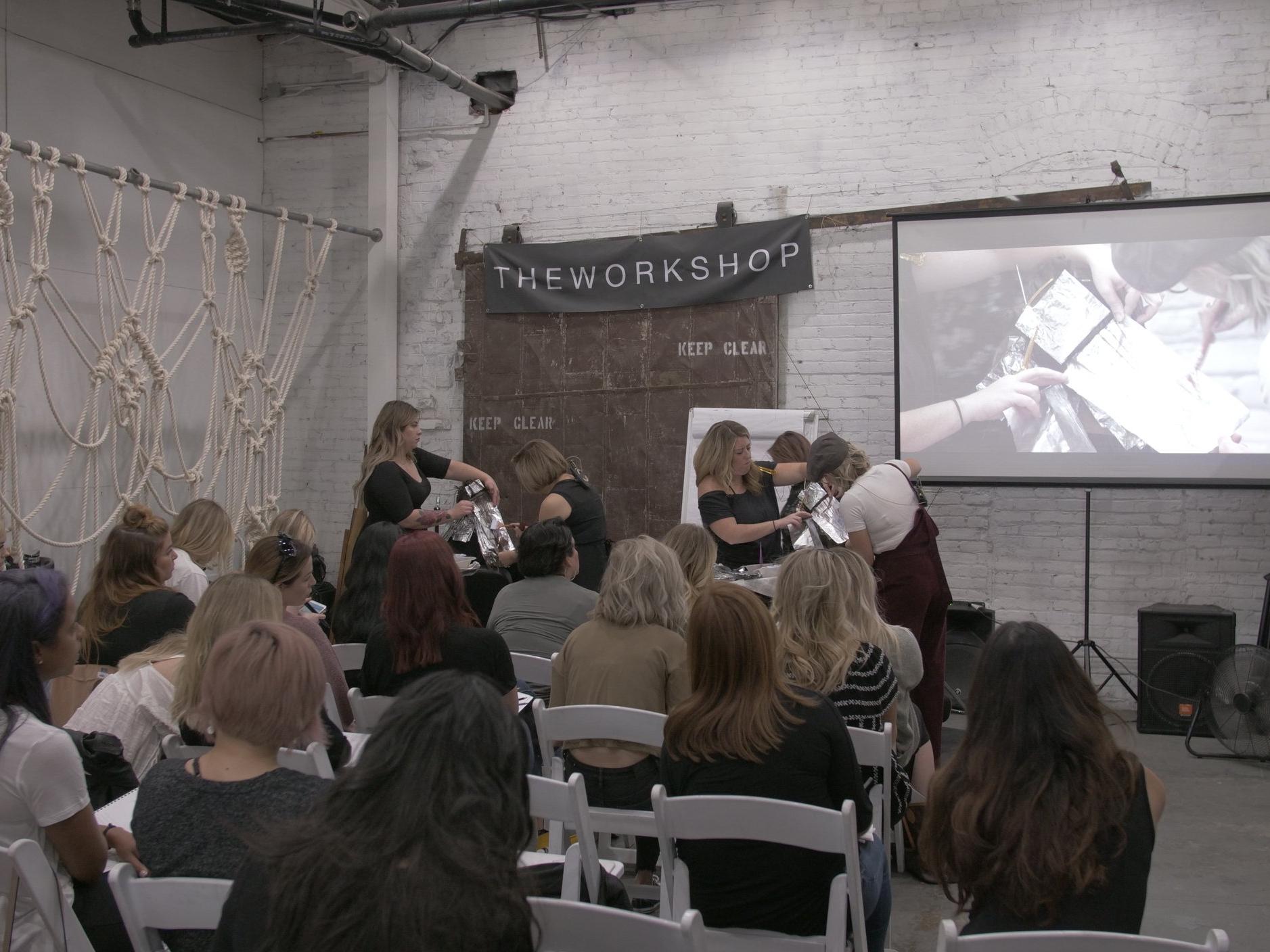 Shannon Hair Salon Workshop