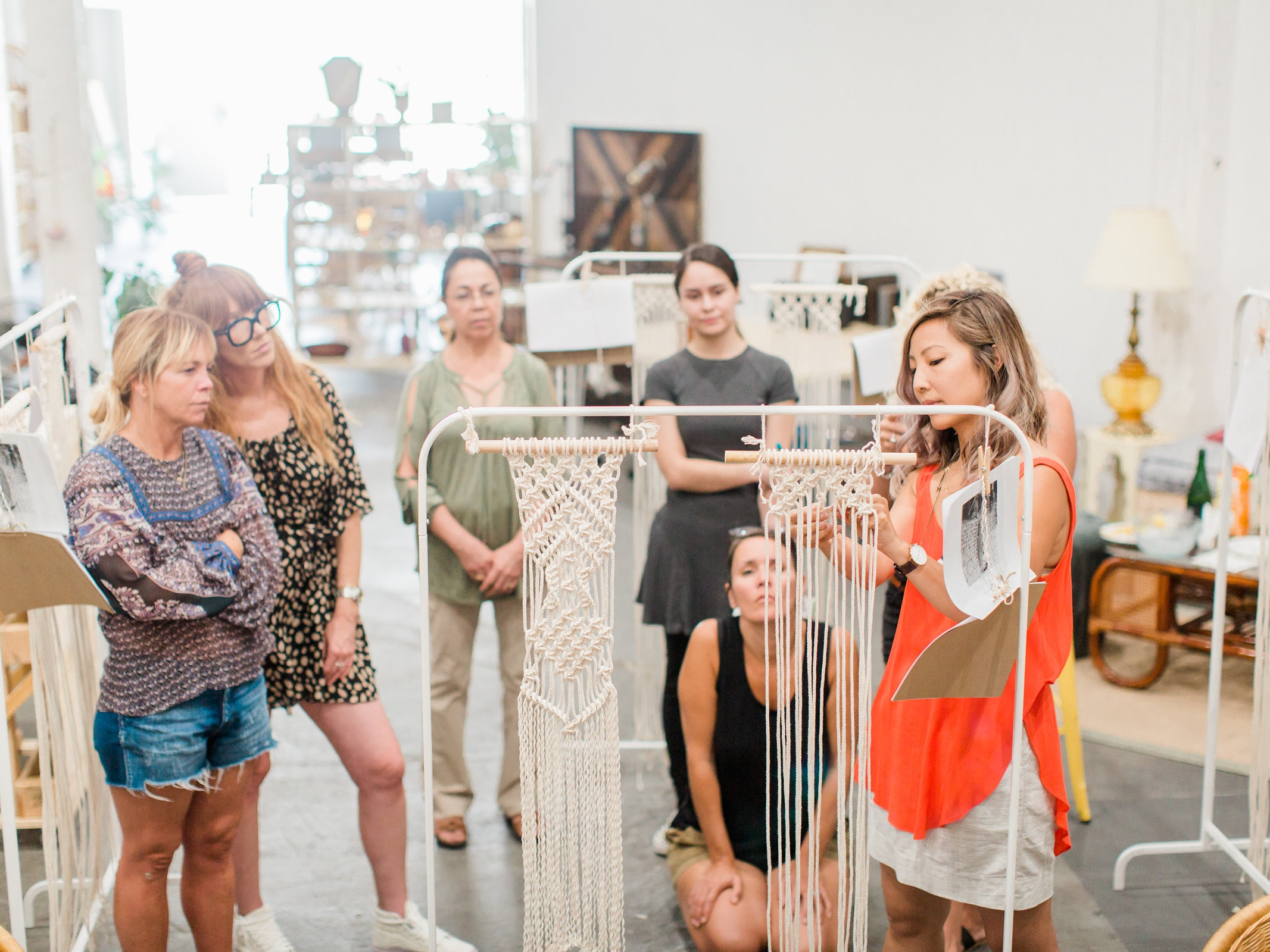 Macrame Workshop with Faithful Artisans
