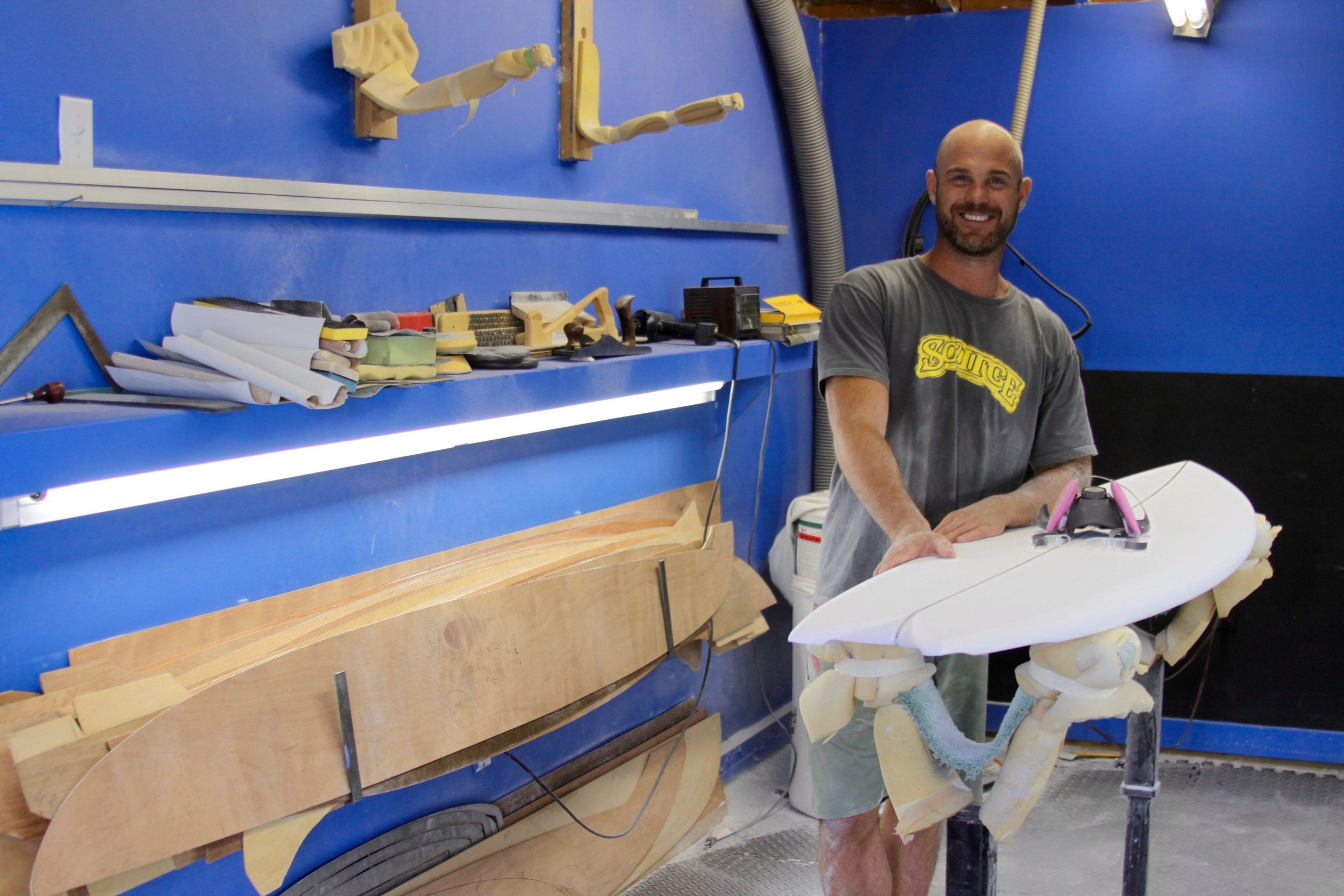 Palandrani in his happy place. Photo: courtesy of Nick Palandrani