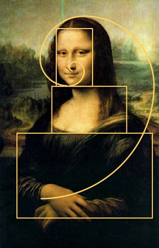 Sacred geometry in da Vinci's   Mona Lisa