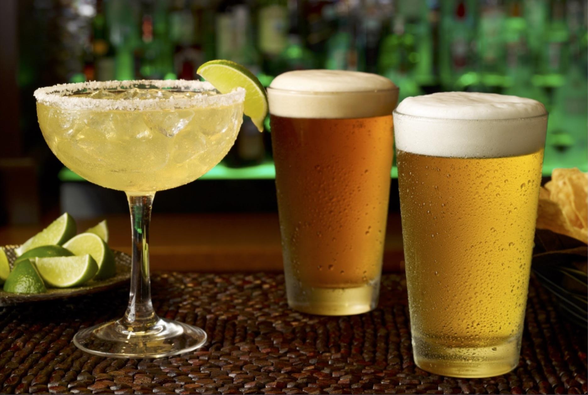 Margarita and 2 beers.jpg