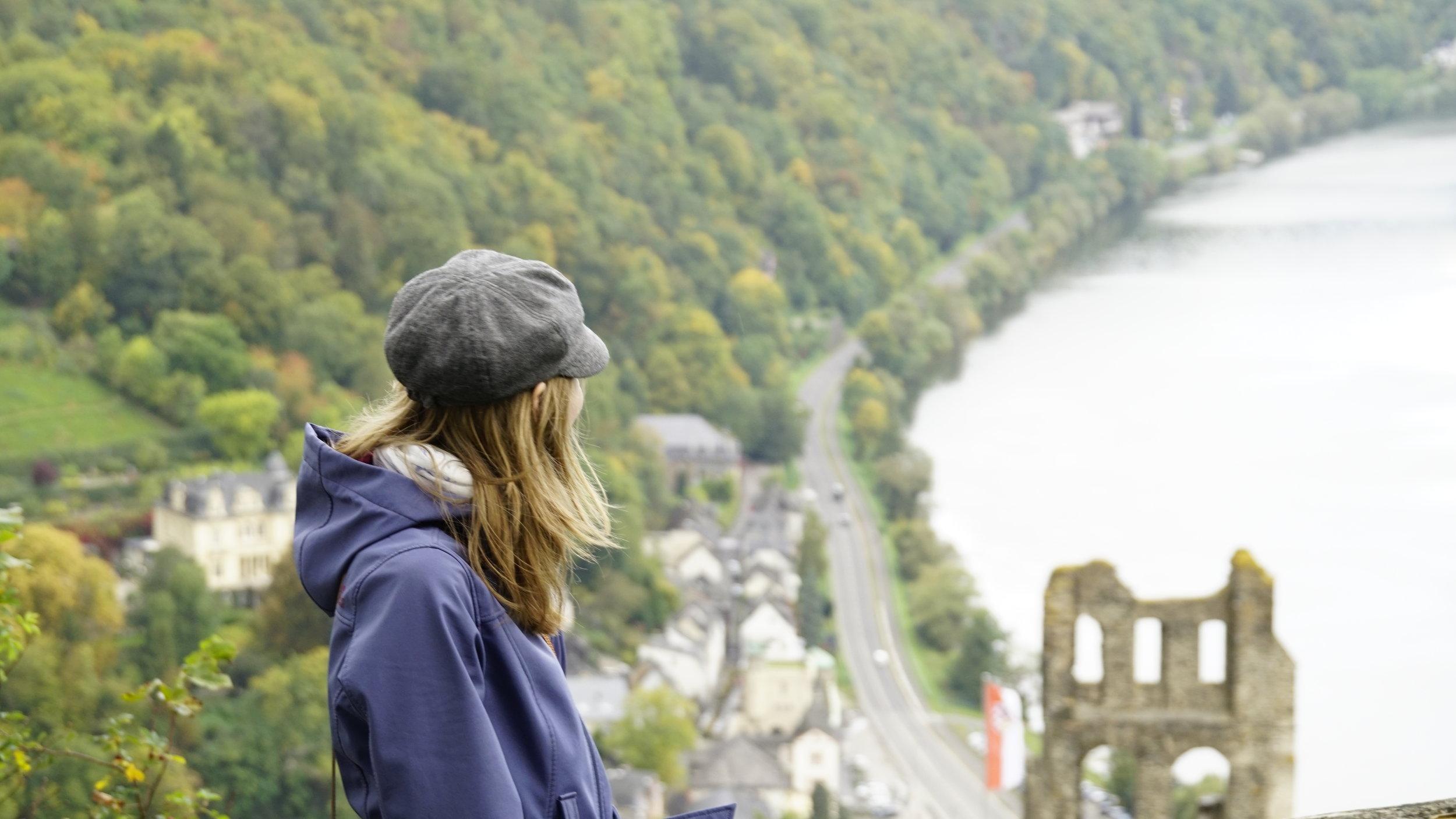 Aussichtspunkt oberhalb der Grevenburg