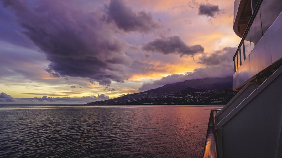 Sunset at Santa Cruz de La Palma
