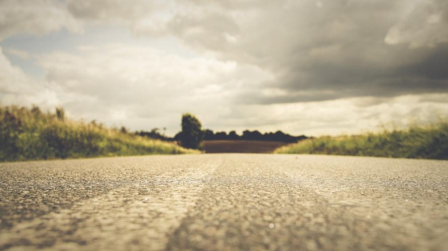 At the road