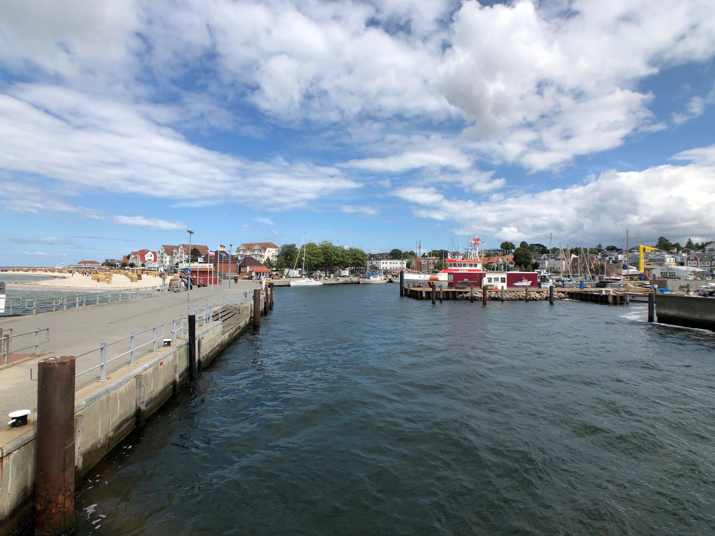 Hafen Laboe