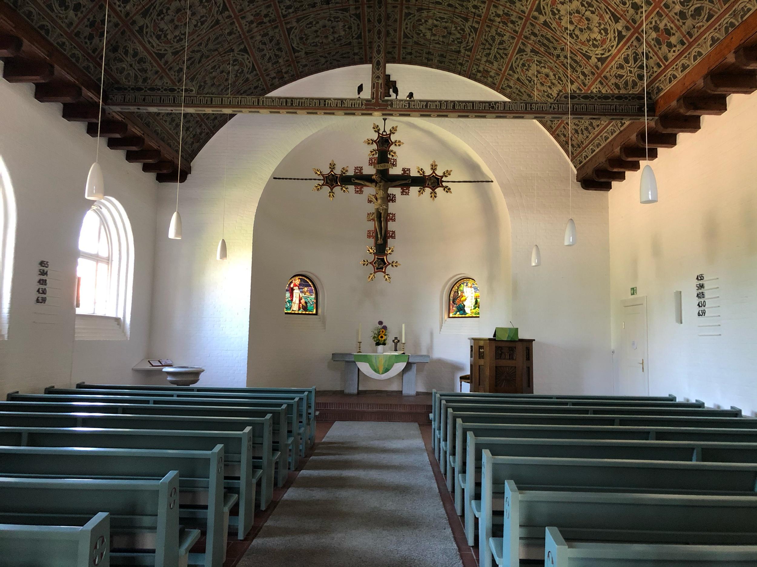Alte kleine Kirche von Friedrichsort