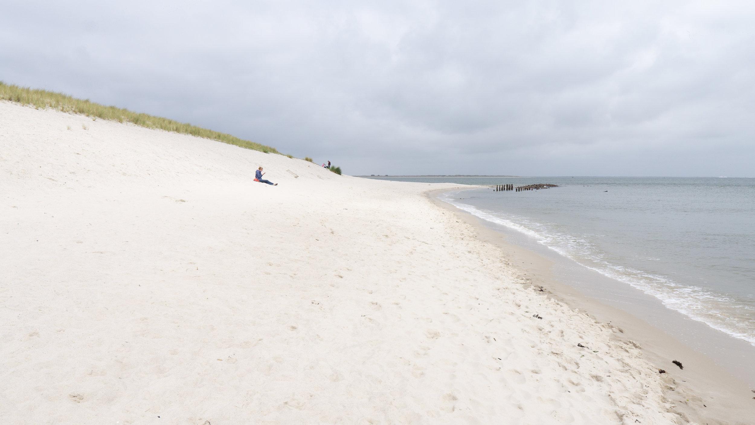 Am Strand nördlich vom Lister Hafen