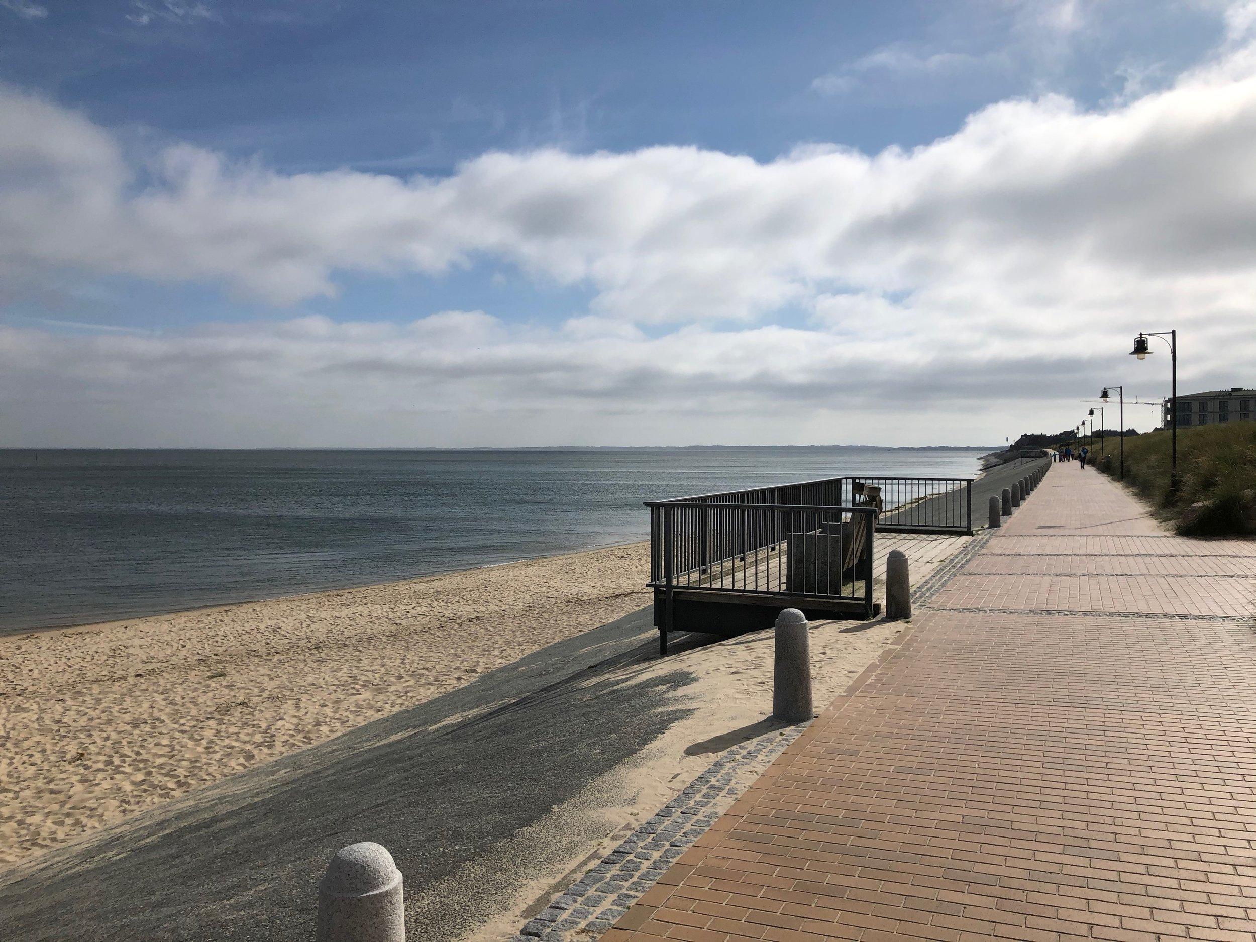 Promenade List südlich vom Hafen