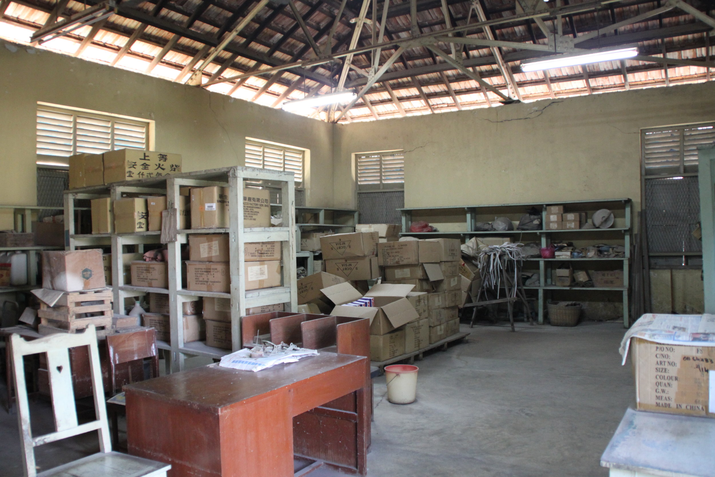 A view of the inmates store where Ang Ah Sim used to work in. (photo by Tan Ean Nee)