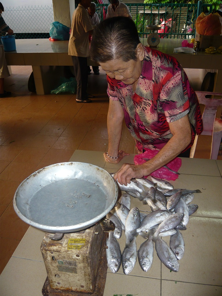 Each resident would be provided with 300g of fresh fish thrice a week. (photo by Joshua Wong)