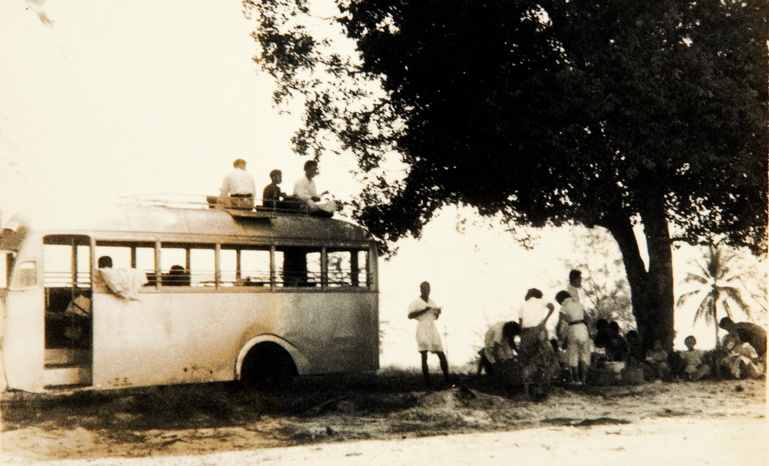 A trip organized by the inmates to Port Dickson. (photo courtesy of Sungai Buloh Settlement Council)