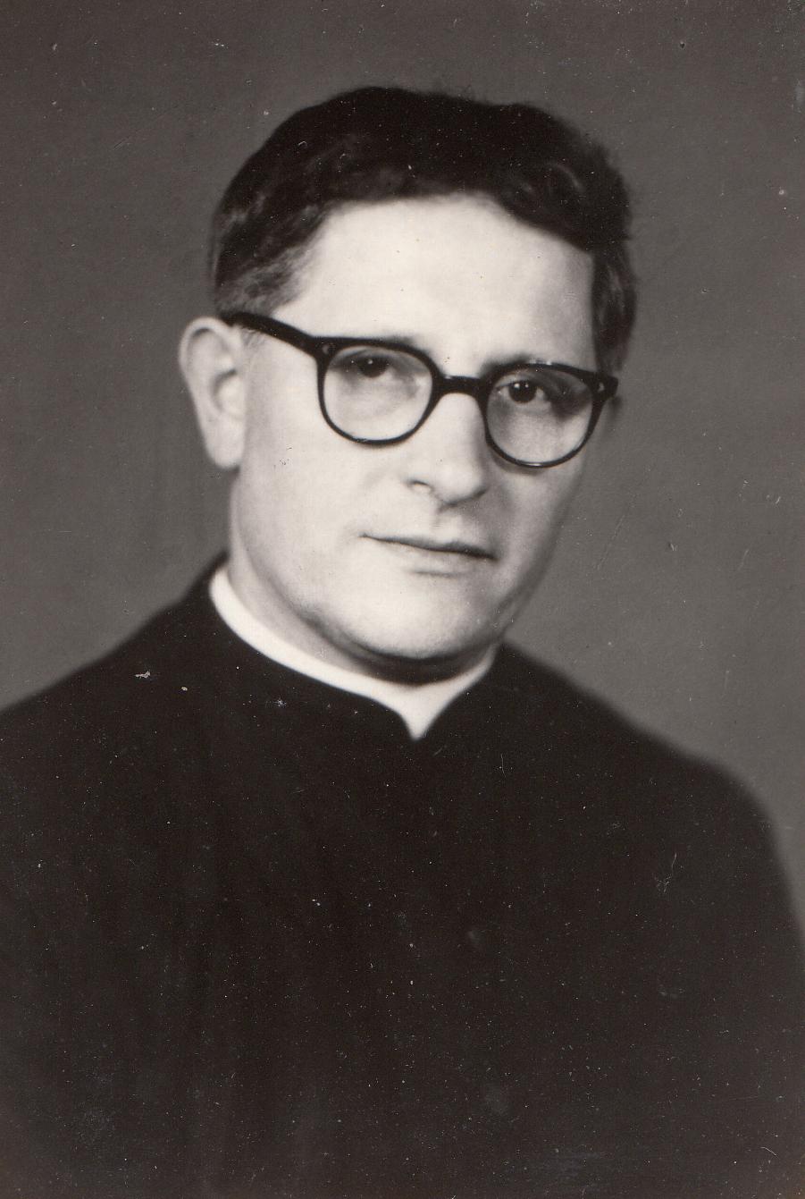 """这位来自意大利的神父曾在在印尼麻疯病院服务,人们都称他  """"  林神父  """"  。  (照片由  黄健在  提供)"""