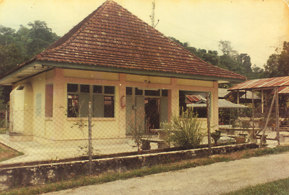 A mosque at the East Section. (photo by Dr Lim Yong Long)