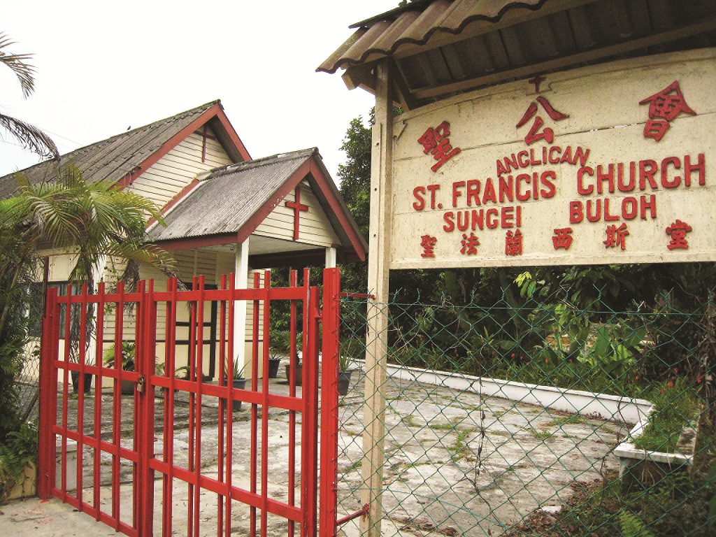 St Francis Church at the Central Section. (photo by Tan Ean Nee)