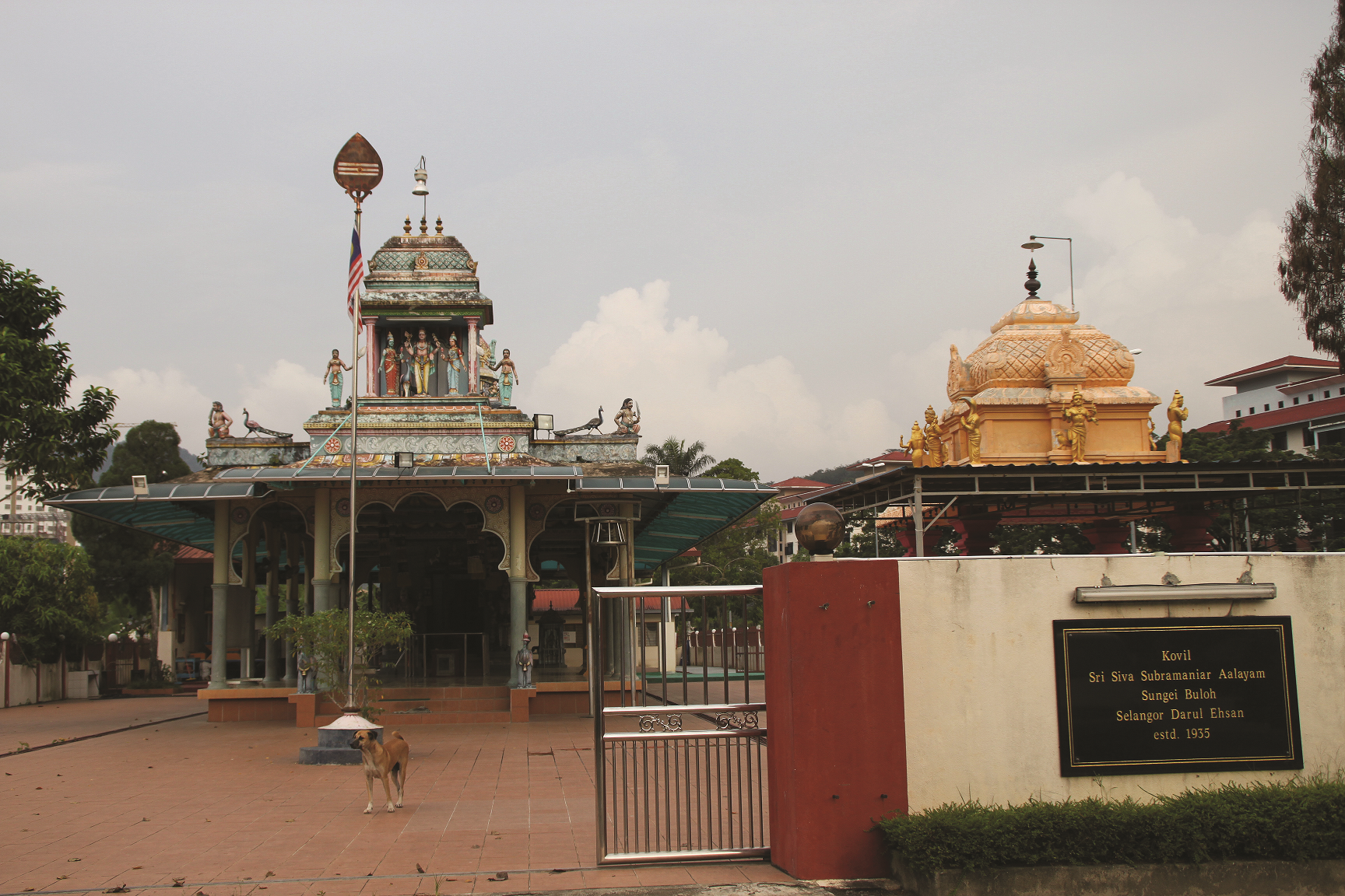 Hindu Temple at the East Section. (photo by Tan Ean Nee)