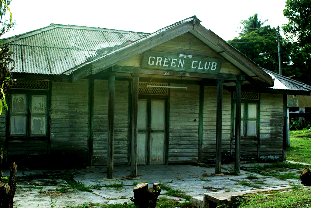 """Green Club, some inmates referred to it as the """"Ang Mor Club""""or Westerners Club. (photo by Dr Lim Yong Long)"""