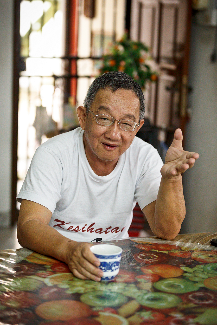 Dr Lim Kuan Joo (photo by Lian Ling Siong)