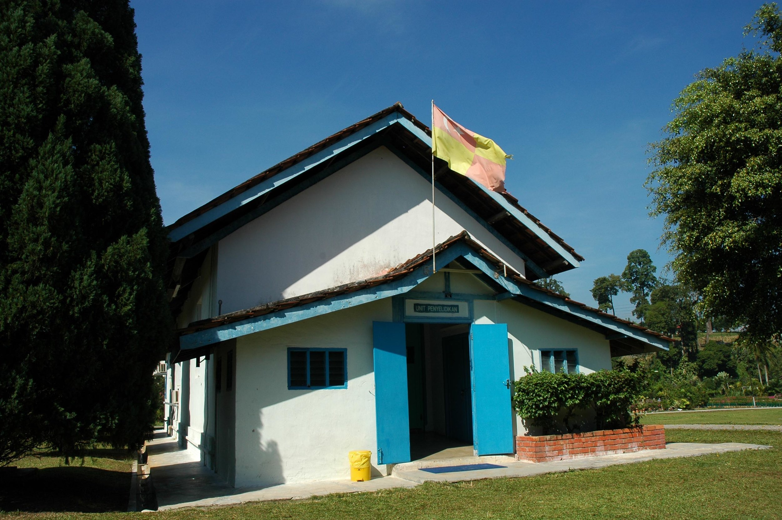 The Research Unit, established in 1951 to carry out research on the disease. (photo by Dr Lim Yong Long)