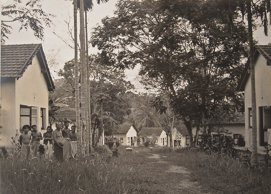 The residential area consisted of detached chalets for single and married recovered patients. (photo courtesy of Lai Fook Hin)