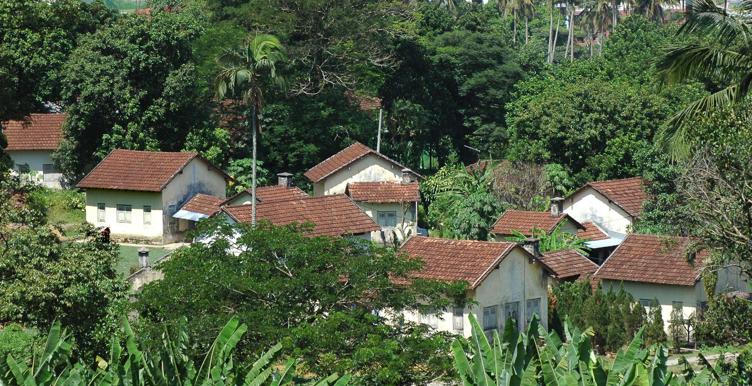 The chalets were of European design and were built to house two, four or six persons. (photo by Dr Lim Yong Long)