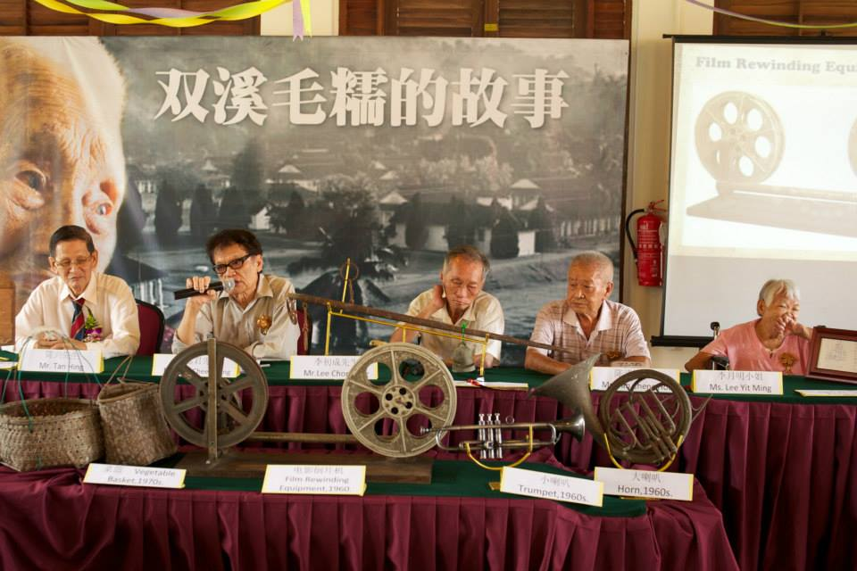 The residents' life experiences and survival testimonies are the intangible cultural heritage. (photo by Lim Mei Kim)