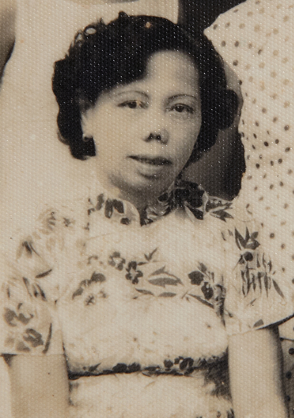 Ms Tham Yoke Si, the director of the performing group. (photo courtesy of Lee Sow Cheng)