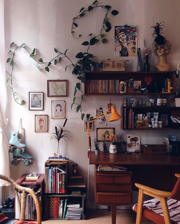 bohem-tarzı-dekorasyon-retro-vintage-mobilya-dekor
