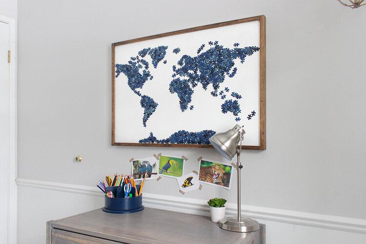 puzzle-duvar-dekorasyonu