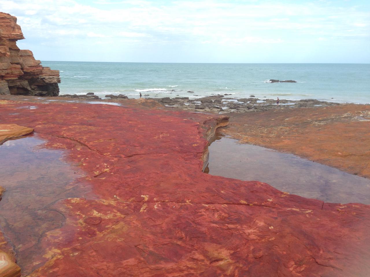 Vivid colours of Gantheume Point