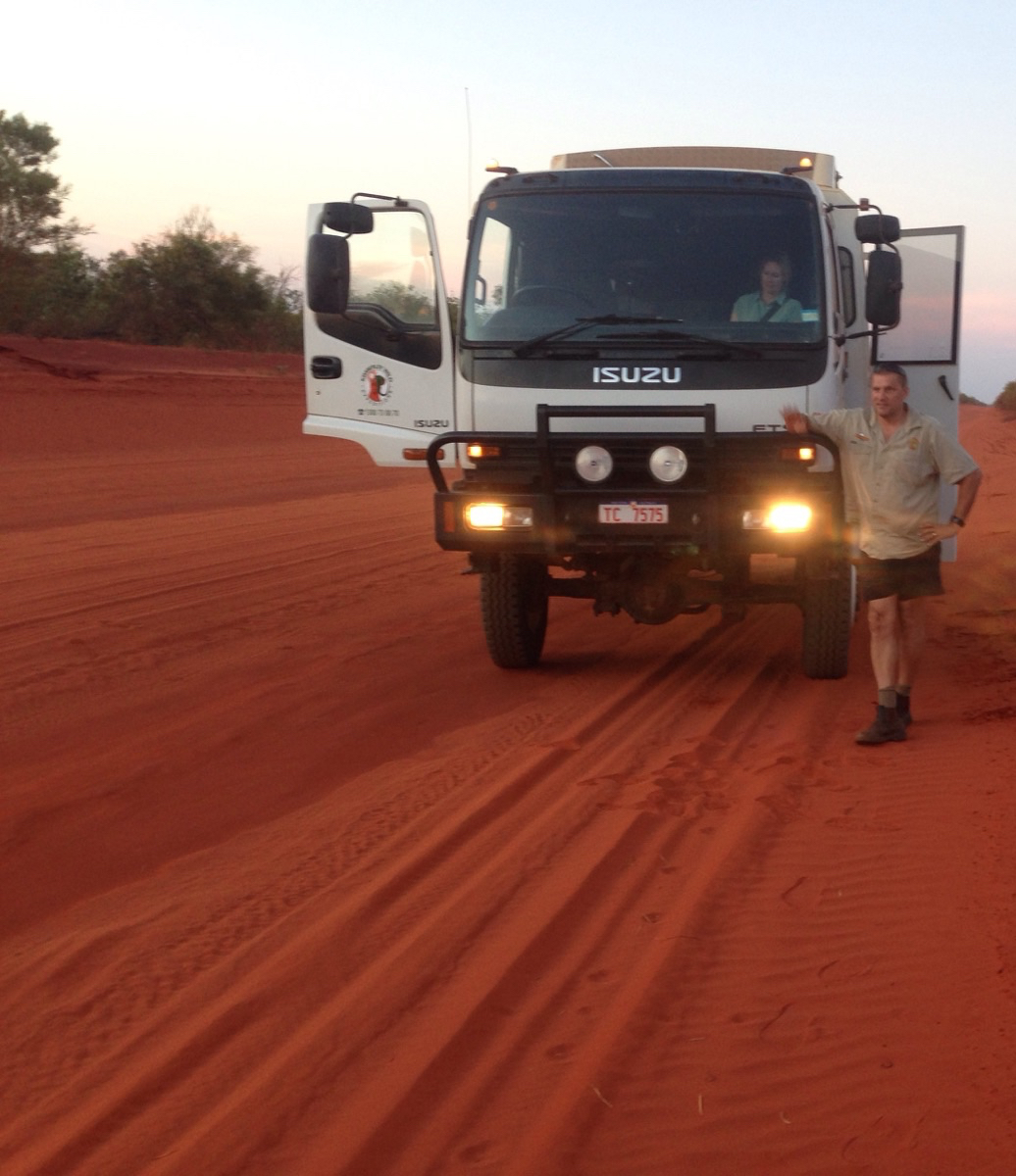 The challenging Cape Leveque Road