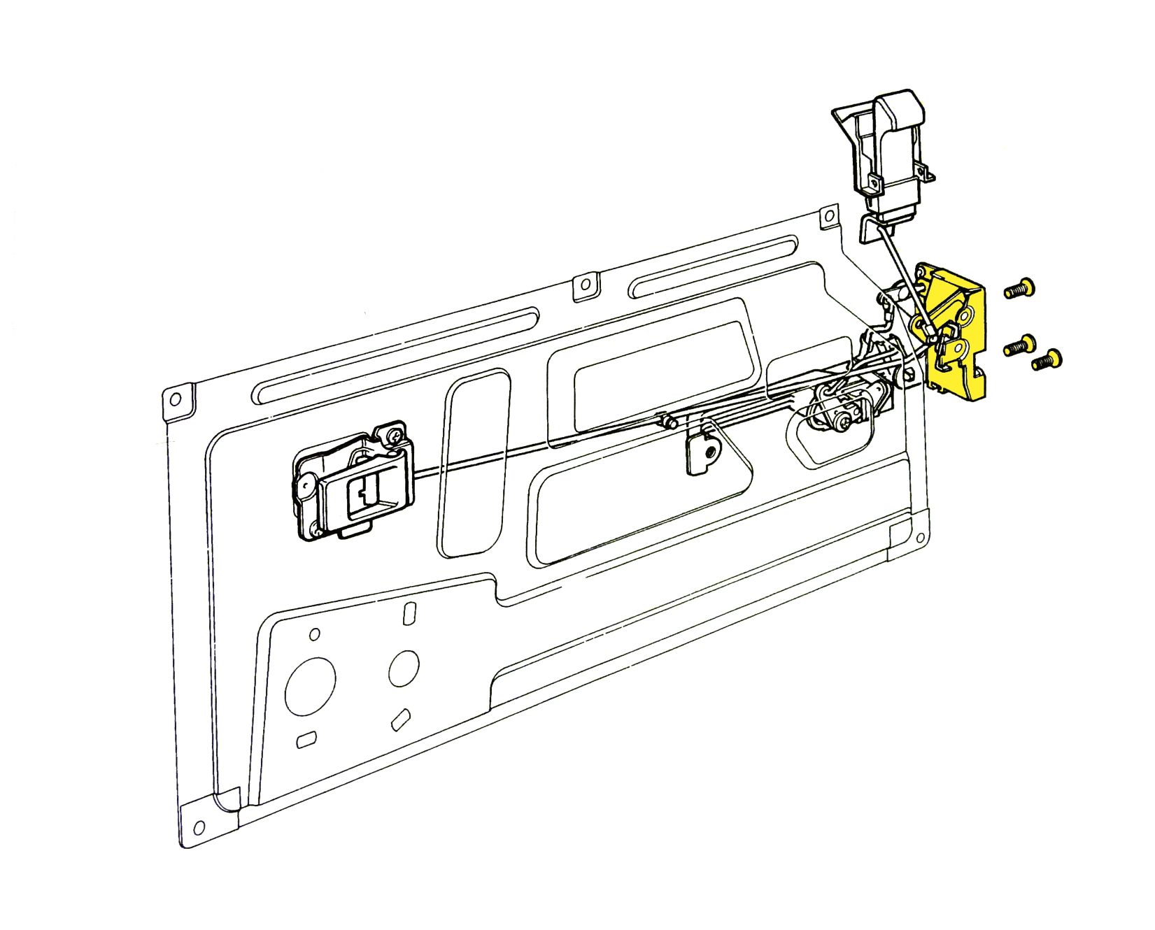 Land Rover Defender Central Locking Wiring Diagram | Wiring Diagram