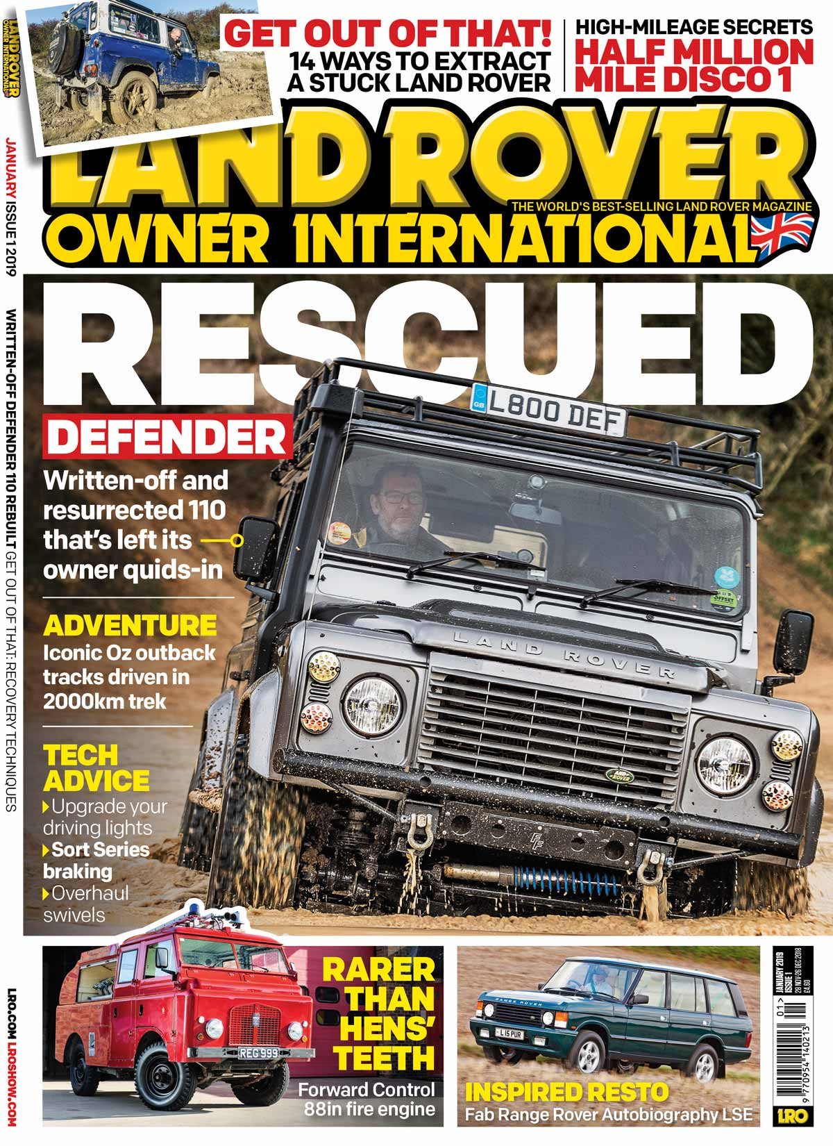 LRO January 2019 cover