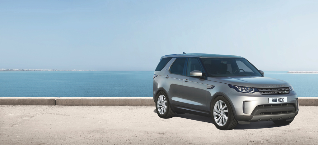 Corris Grey is one of four colours available for the Anniversary Edition Discovery 5.