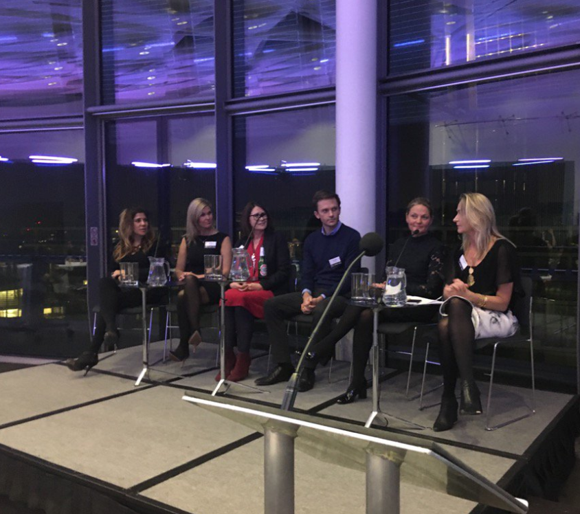 Speaking at TLA Women in Tech on how women can join the C-suite and Boardroom