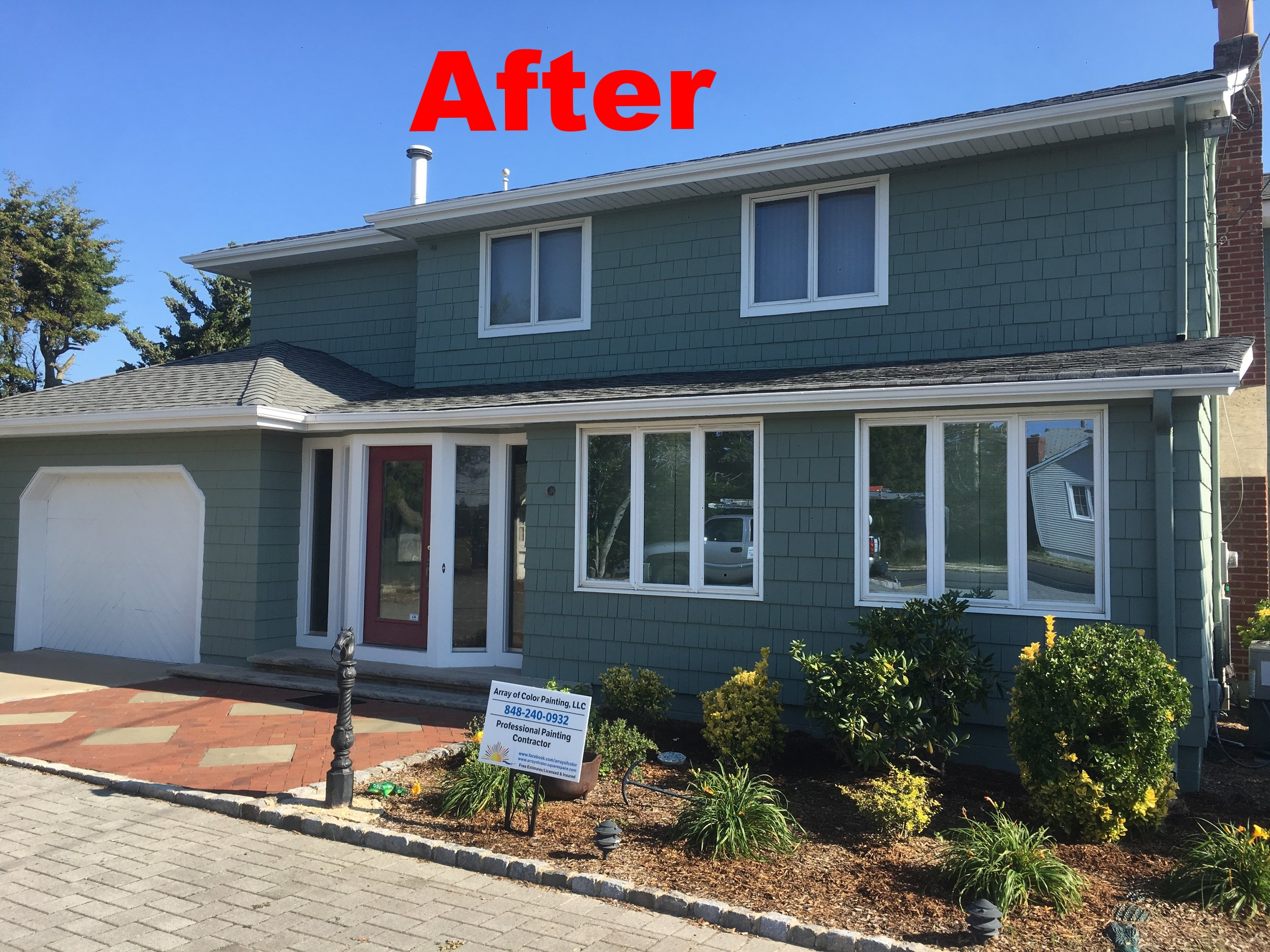 Exterior Photos Array Of Color Painting Llc