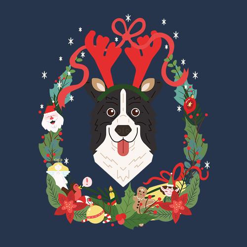 Christmas Doggo — John Hargreaves