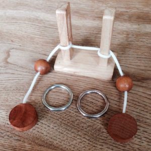 Wooden puzzle Solved